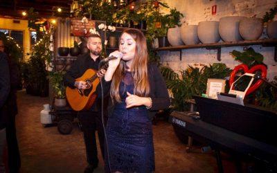 Glasshaus Wedding Band – Magda and Damien