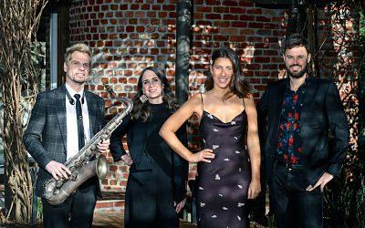 Wedding Band With Saxophone!