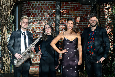 Wedding Band With Saxophone Melbourne